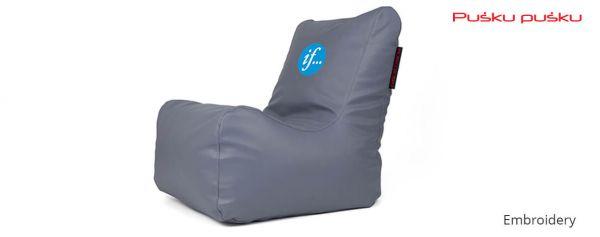 Siuvinėjimas ant sėdmaišio IF