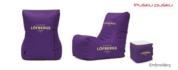Siuvinėjimas ant sėdmaišio LOFBERGS