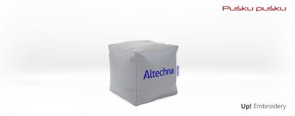Siuvinėjimas ant sėdmaišio ALTECHNA