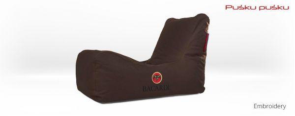 Siuvinėjimas ant sėdmaišio BACARDI