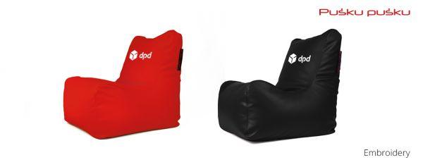 Siuvinėjimas ant sėdmaišio DPD