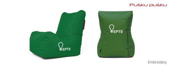 Siuvinėjimas ant sėdmaišio EPTS