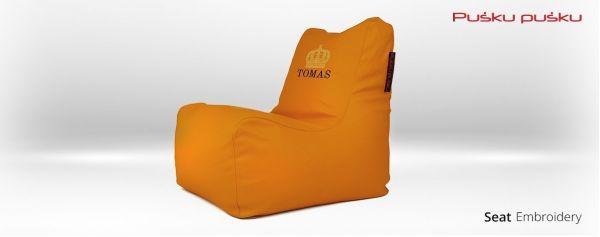 Siuvinėjimas ant sėdmaišio TOMAS